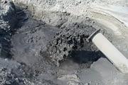 Preventing coal ash from reaching dumpsites